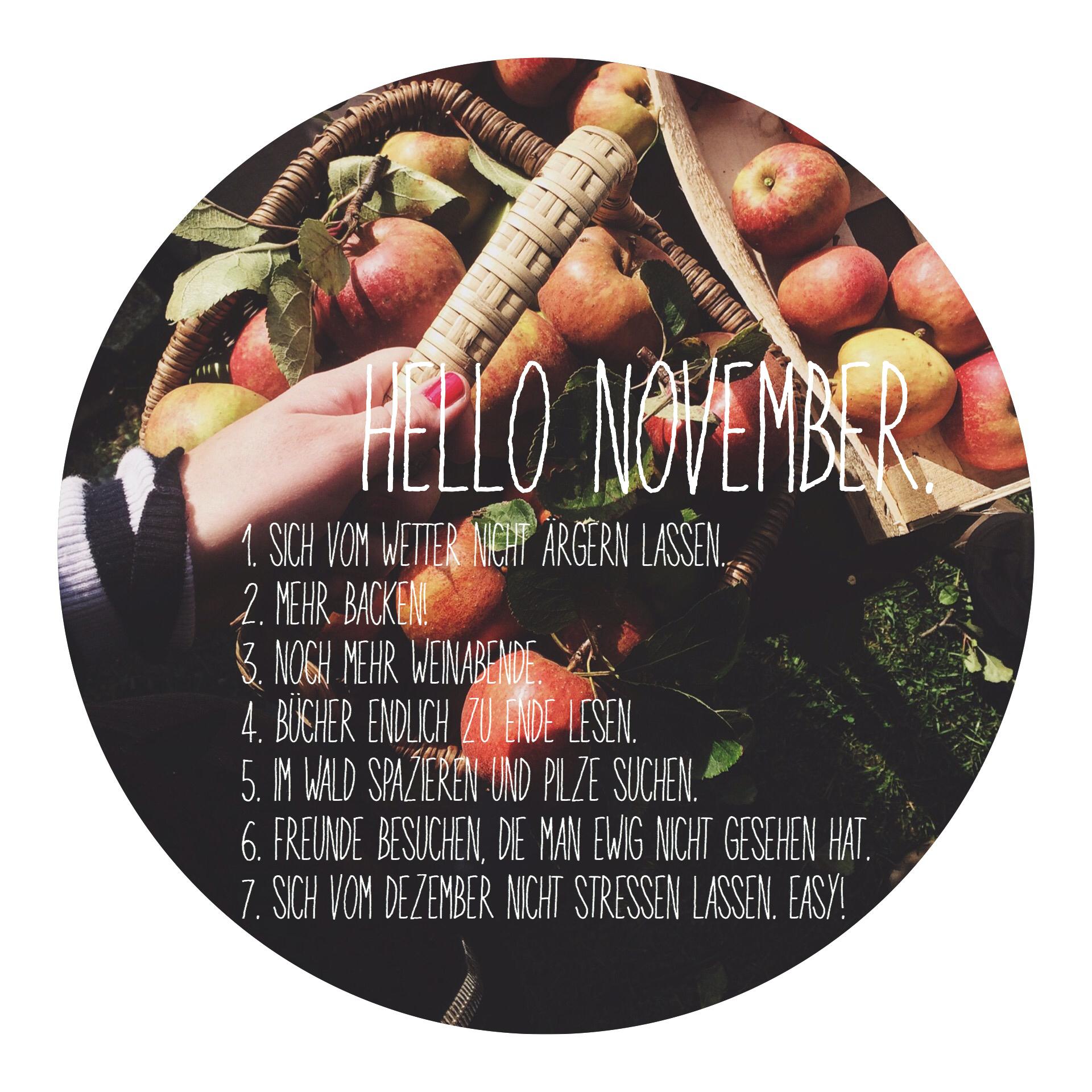 7 Dinge im_November